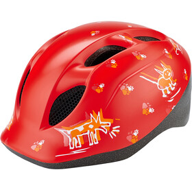 MET Superbuddy Casque Enfant, red animals
